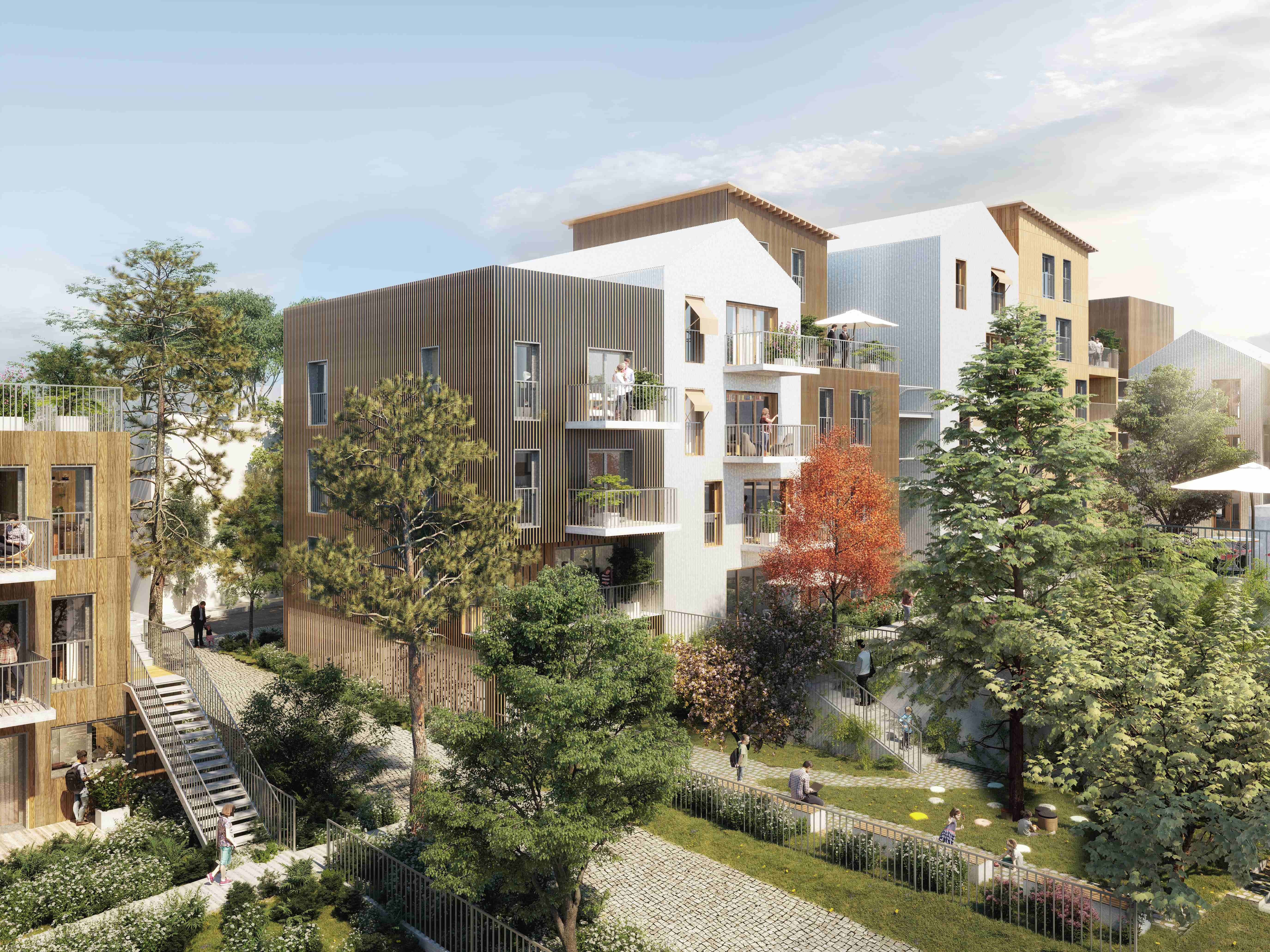 INTERCONSTRUCTION ET AFC Promotion retiennent ECOLOGGIA pour la construction de 92 logements